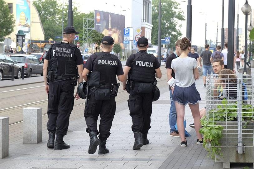 Żandarmeria i policja na ulicach Krakowa /Paweł Krawczyk /INTERIA.PL