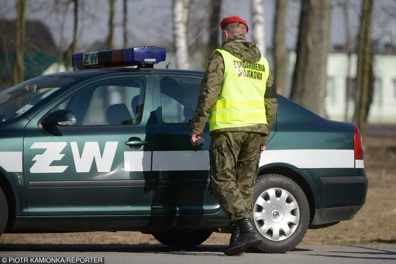 Żandarmeria Wojskowa; zdj. ilustracyjne /Piotr Kamionka /Reporter