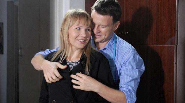 Żaneta (Anna Guzik) i Wojtek (Wojciech Błach) /Agencja W. Impact