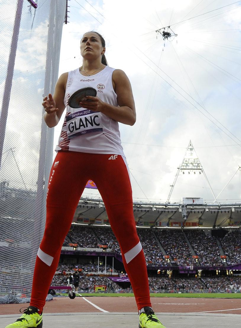 Żaneta Glanc. /AFP