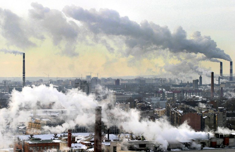 Zanieczyszczenie powietrza już dzisiaj ma realny wpływ na klimat /AFP