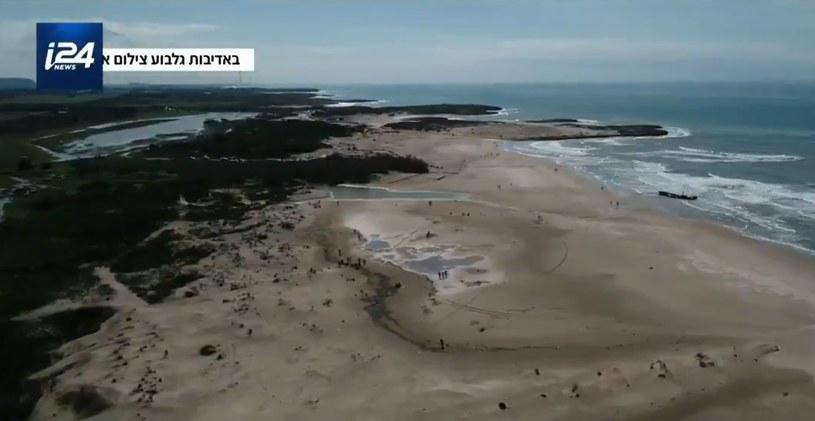 Zanieczyszczone plaże /@i24NEWS_EN /Twitter