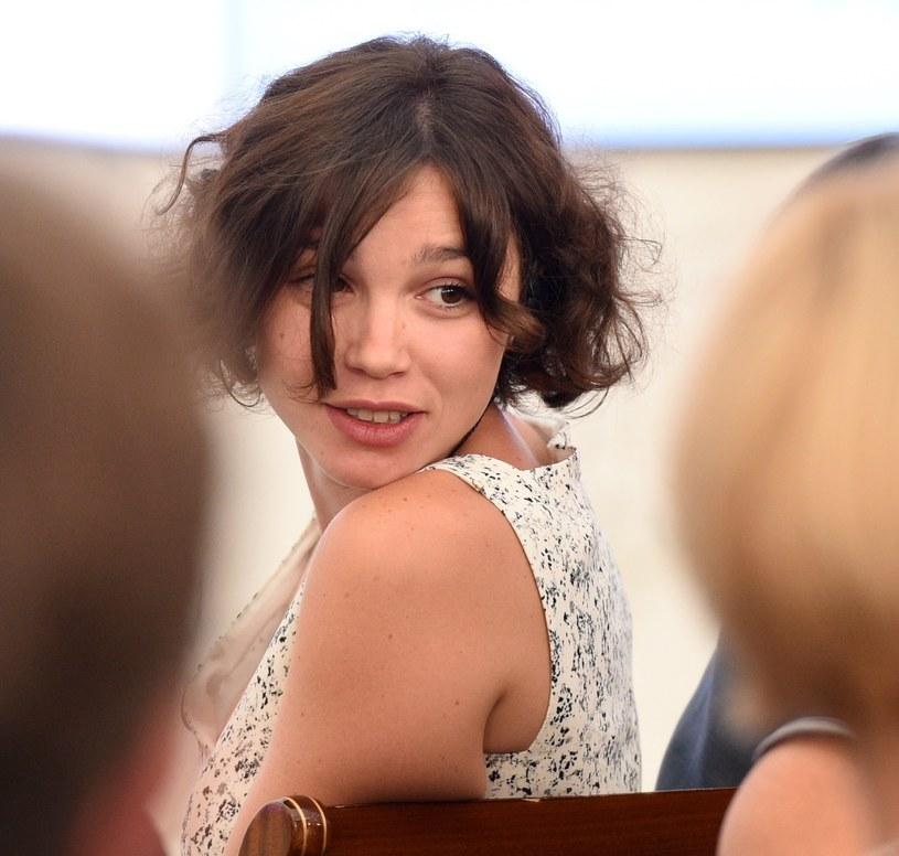 Żanna Niemcowa w Pałacu Prezydenckim /Jacek Turczyk /PAP