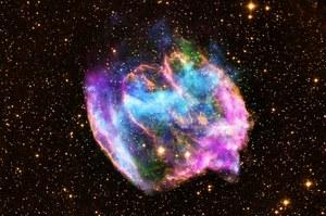 Zaobserwowano najmłodszą czarną dziurę we wszechświecie