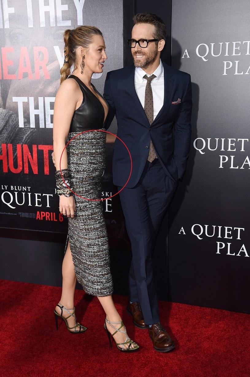 Zaokrąglony brzuszek aktorki wzbudził falę spekulacji /Jamie McCarthy /Getty Images