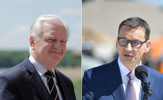 Zaostrzenie konfliktu Gowin-Morawiecki. Chodzi o podwyżki podatków