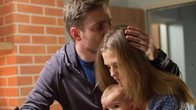Zapała żałuje, że jego związek z Olą się rozpadł. /www.nadobre.tvp.pl/