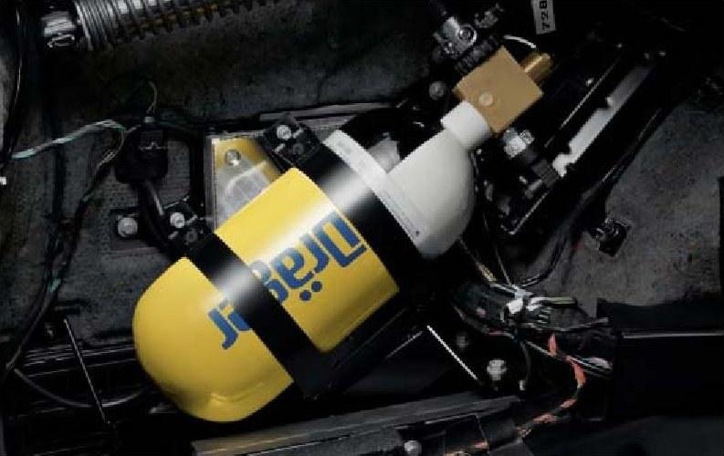 Zapewnia dopływ czystego powietrza po wykryciu ataku np. gazem łzawiącym. Odpowiednie czujniki uszczelniają wnętrze, niewielkie nadciśnienie zapobiega przedostawaniu gazu z zewnątrz. /BMW