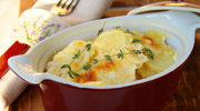 Zapiekane ziemniaki z cebulą i rozmarynem