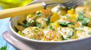 Zapiekanka rybna w serowym sosie