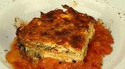 Zapiekanka z bakłażana i koziego sera