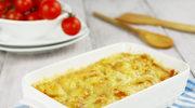 Zapiekanka z kalafiorem i pomidorami