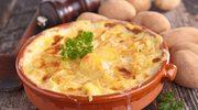 Zapiekanka z kiełbasą i ziemniakami