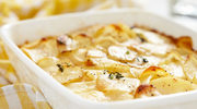 Zapiekanka z ziemniakami i grzybami