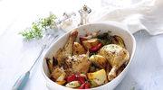 Zapiekany kurczak po włosku