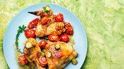 Zapiekany kurczak z warzywami