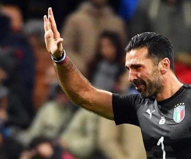 Zapłakany Gianluigi Buffon zakończył karierę w reprezentacji Włoch