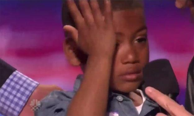 """Zapłakany Mir Money podczas przesłuchań do """"America's Got Talent"""" /"""