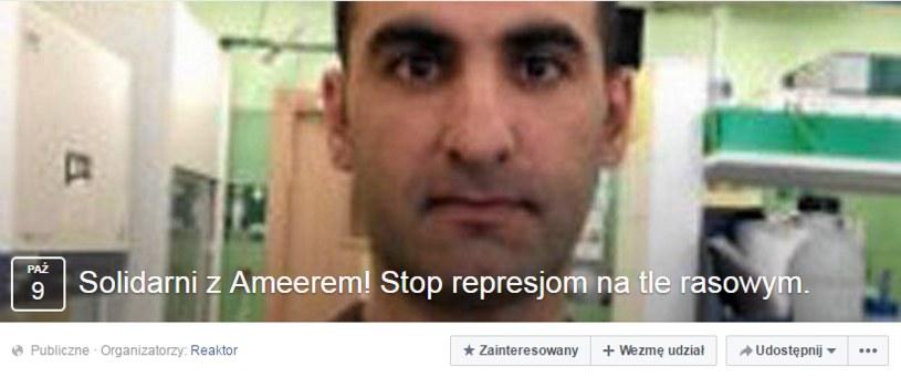 Zapowiedź protestu na Facebooku /facebook.com
