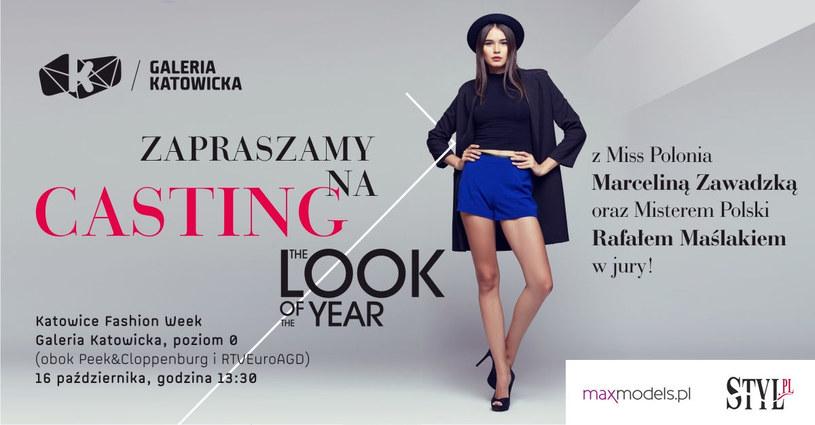 Zapraszamy do Katowic na casting do konkursu The Look of the Year 2017 /materiały prasowe