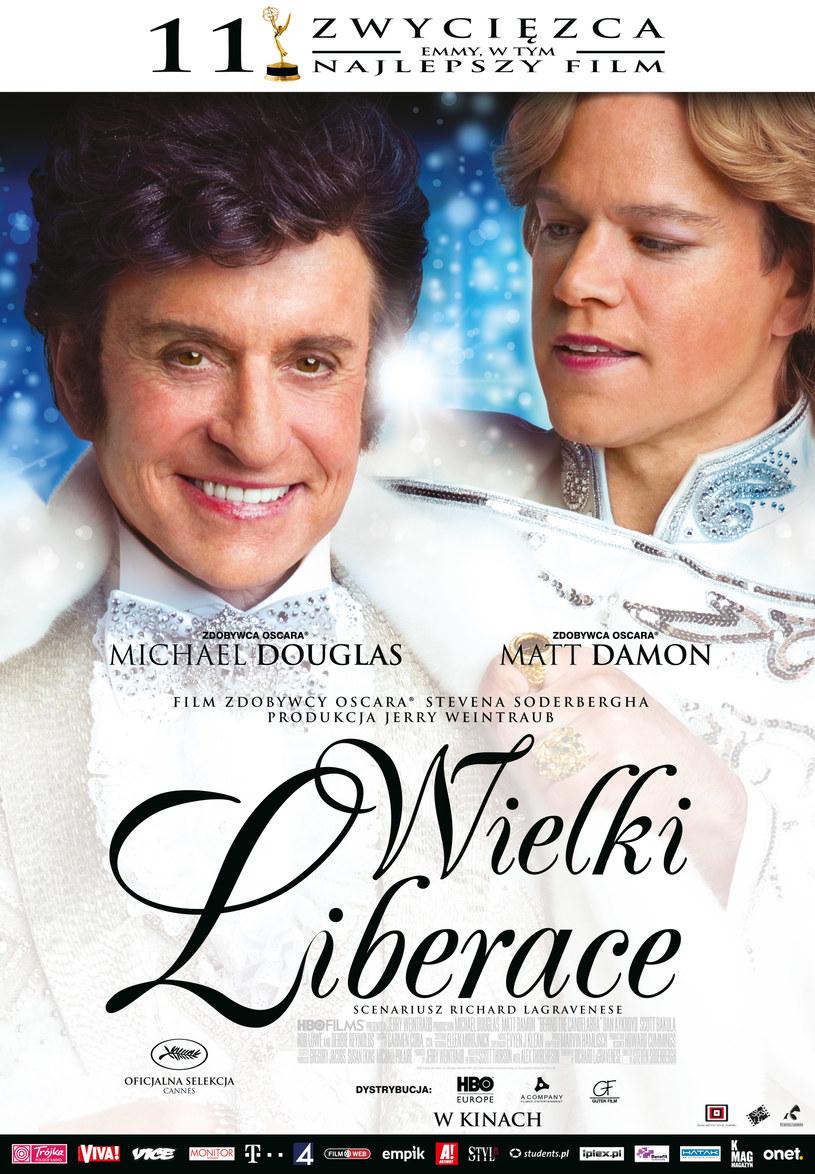 """Zapraszamy do kin na film """"Wielki Liberace"""" /materiały prasowe"""