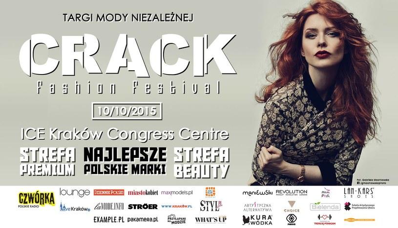 Zapraszamy na Crack Fashion Festival /materiały prasowe
