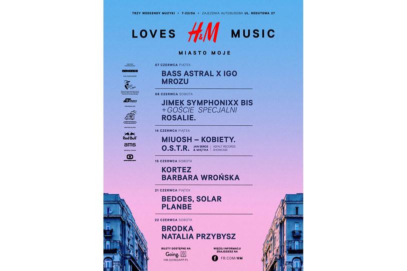 Zapraszamy na festiwal H&M Loves Music: Moje Miasto /materiały prasowe