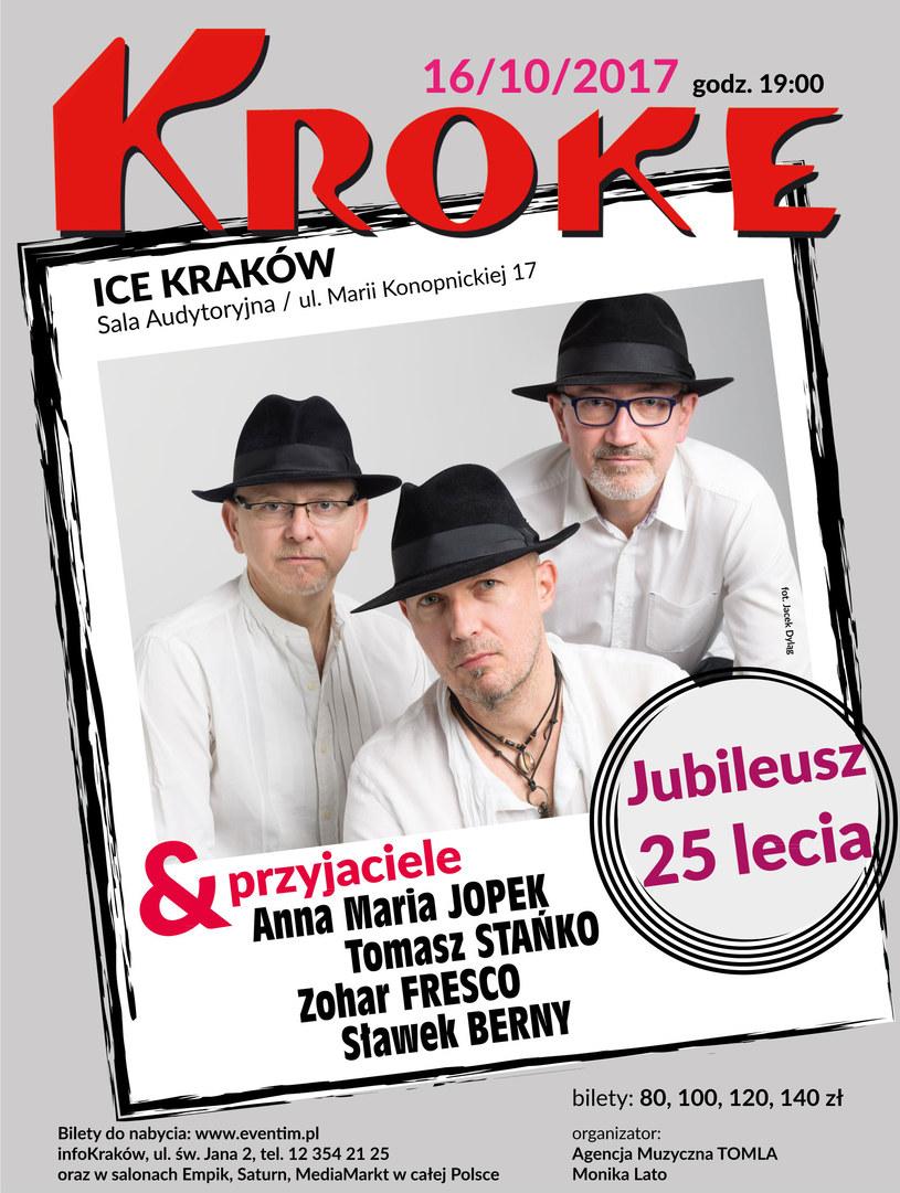 Zapraszamy na koncert KROKE & Przyjaciele /materiały prasowe
