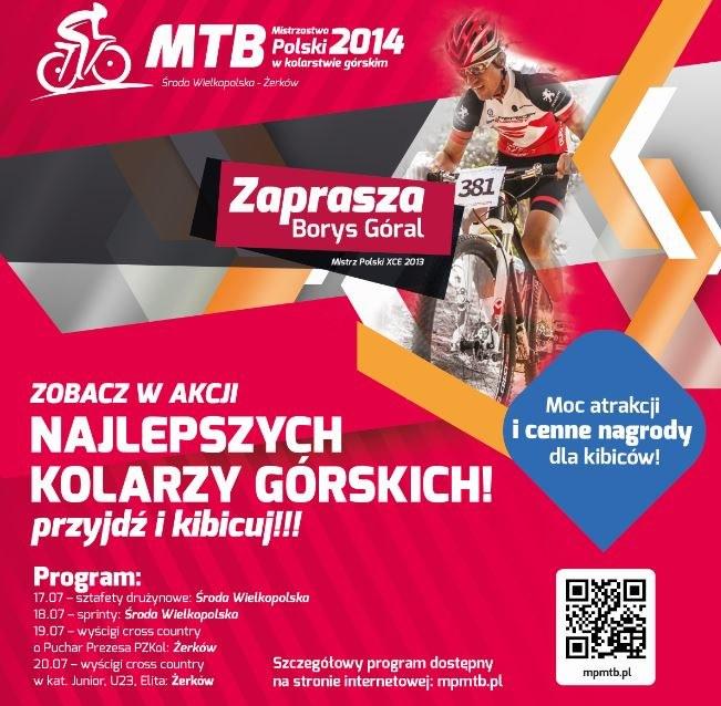 Zapraszamy na mistrzostwa Polski w kolarstwie górskim /Informacja prasowa