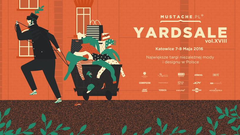Zapraszamy na  Mustache Yard Sale do Katowic /materiały prasowe