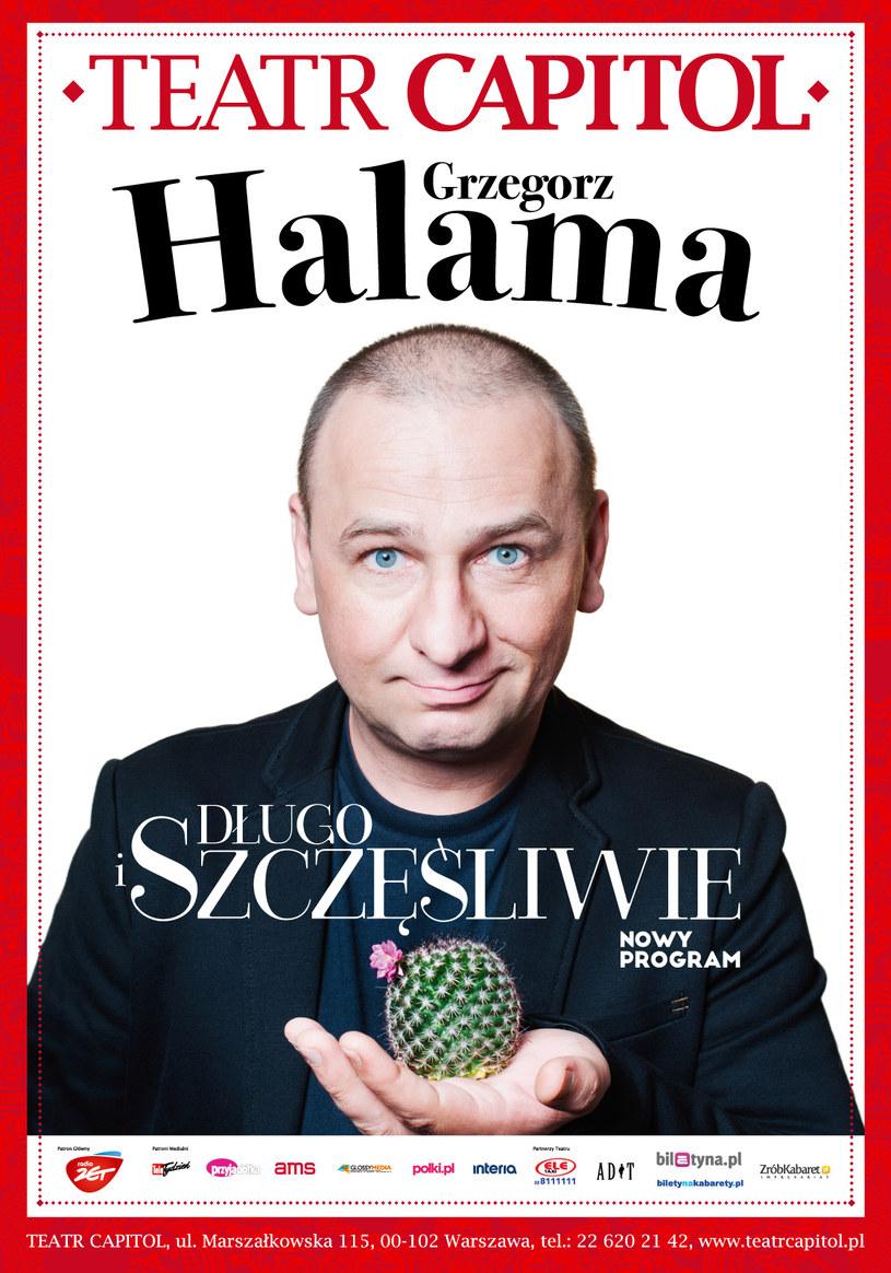 Zapraszamy na nową odsłony Grzegorza Halamy w Teatrze Capitol /materiały prasowe