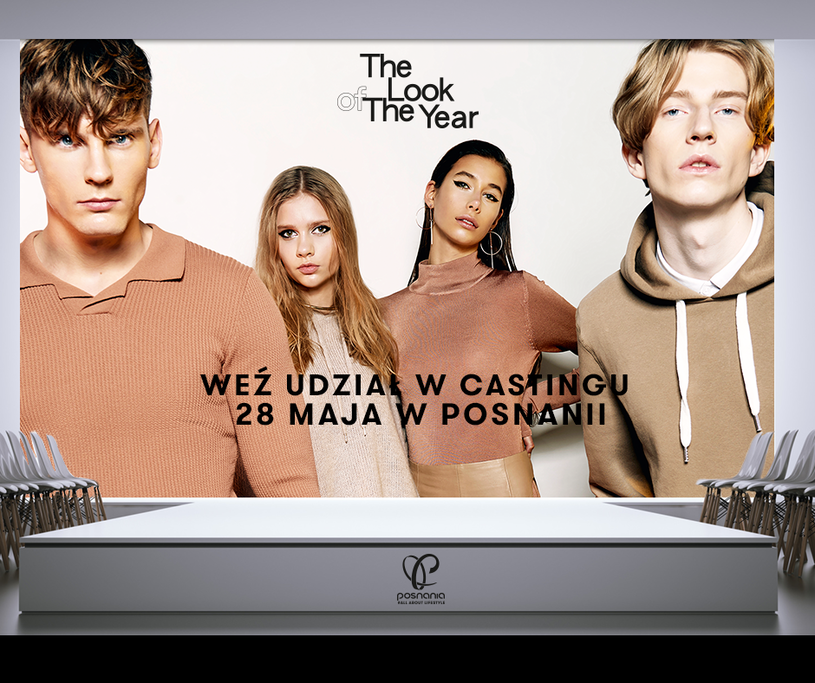 Zapraszamy na ostatni casting The Look of The Year 2017 /materiały prasowe