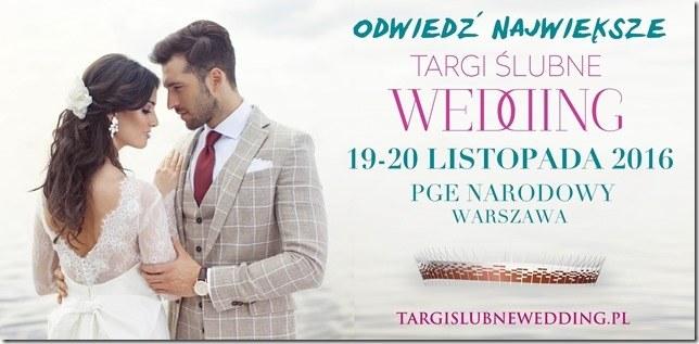 Zapraszamy na Targi Ślubne Wedding /Styl.pl/materiały prasowe