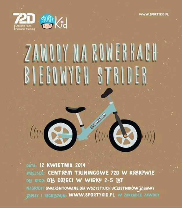 Zapraszamy na zawody rowerowe dla najmłodszych /Informacja prasowa