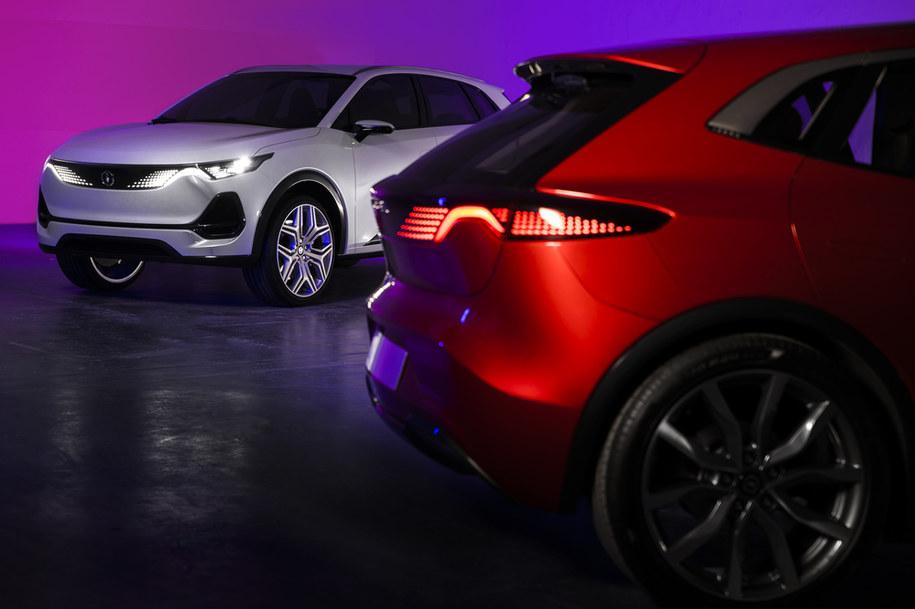 Zaprezentowano dwa prototypy auta na prąd /Materiały prasowe