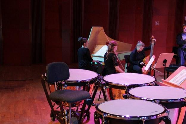 Zaprezentowano m.in. jeden z koncertowych fortepianów, symfoniczne kotły i wibrafon /Agnieszka  Wyderka /RMF FM