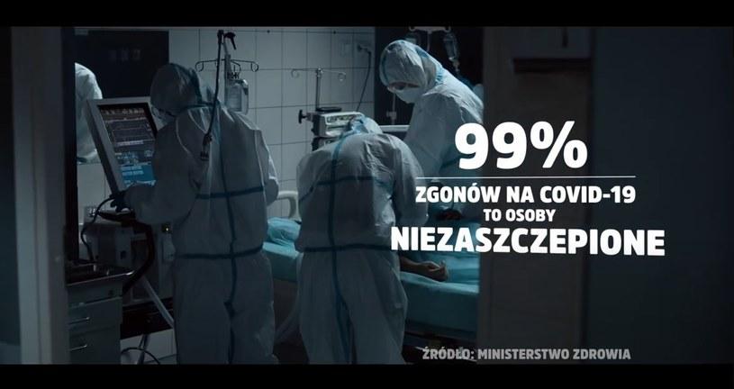 Zaprezentowano nowe spoty w ramach kampanii Narodowego Programu Szczepień /KPRM /Archiwum