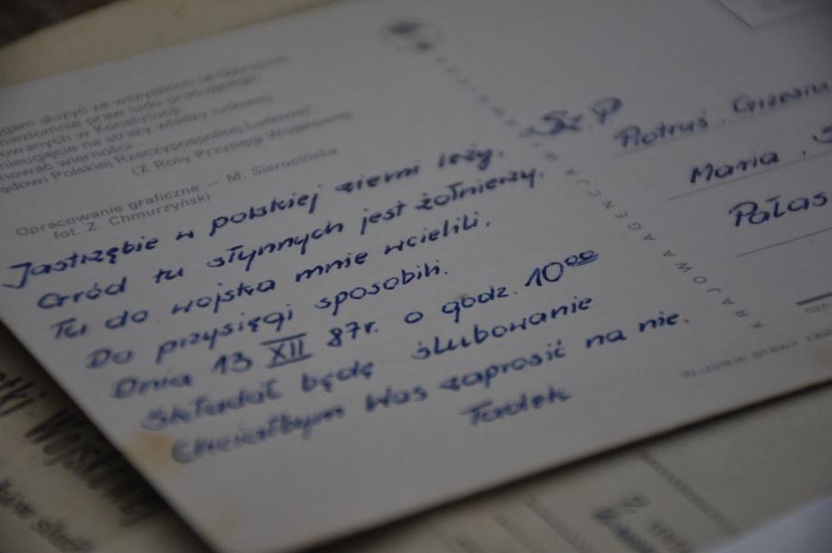 Zaproszenie na przysięgę od Tadeusza Jakowczyka /