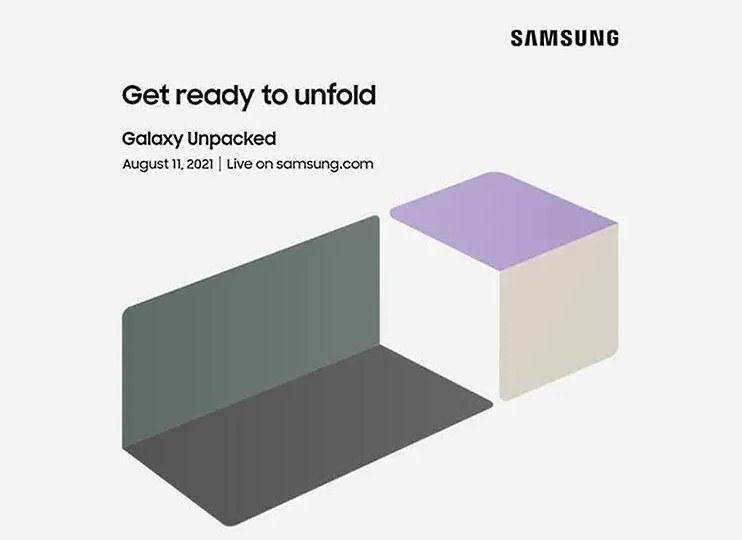 Zaproszenie na tegoroczny Unpacked Samsunga /materiały prasowe