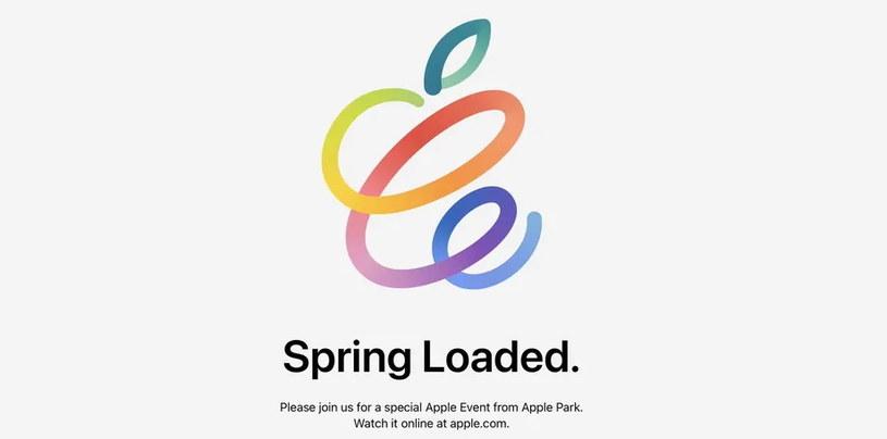 Zaproszenie rozsyłane przez Apple /materiały prasowe