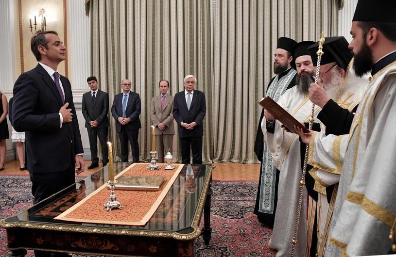 Zaprzysiężenie nowego premiera Grecji /LOUISA GOULIAMAKI /East News