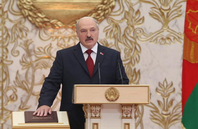 Zaprzysiężenie prezydenta Białorusi Aleksandra Łukaszenki na piątą kadencję /EPA/NIKOLAI PETROV /PAP/EPA