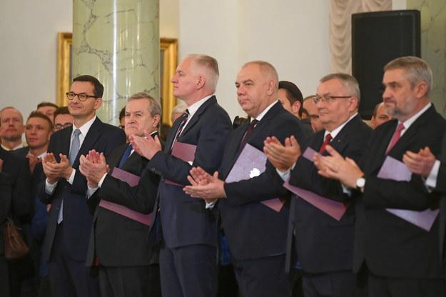Zaprzysiężenie Rady Ministrów. / Radek Pietruszka   /PAP