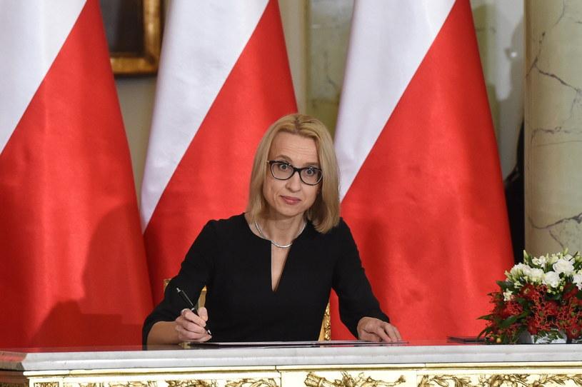 Zaprzysiężona na Ministra Finansów Teresa Czerwińska / Radek Pietruszka   /PAP