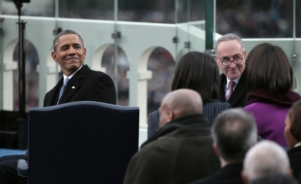 Zaprzysiężono Baracka Obamę. Tłumy pod Kapitolem