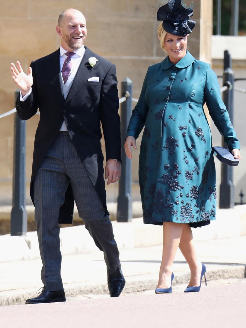 Zara Tindall z mężem /Chris Jackson /Getty Images