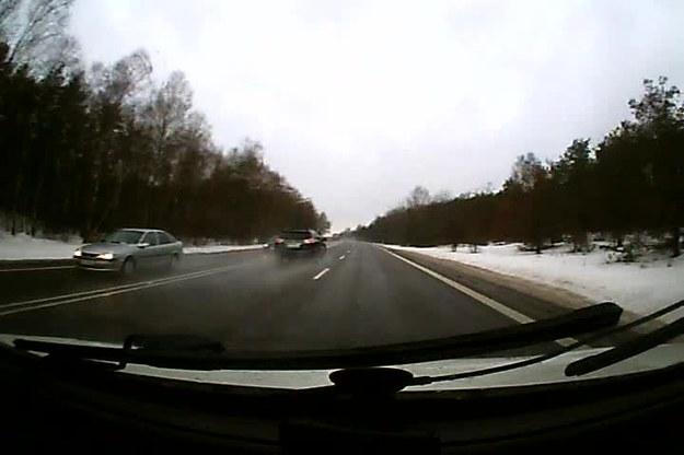 Zarejestrowane 31.01.2013r na obwodnicy Siedlec. P.S. Tylko proszę mi nie pisać, że się wlokłem 60km/h, bo tak nie było.