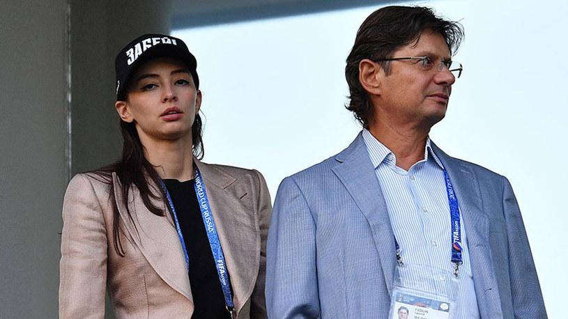 Zarema Salichowa z Leonidem Fedunem właścicielem Spartaka Moskwa /Twitter