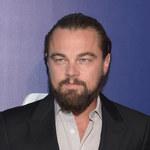 Zarośnięty Leonardo DiCaprio na imprezie