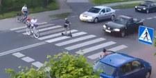 Zarzuty i areszt dla kierowcy, który prawie potrącił czwórkę pieszych
